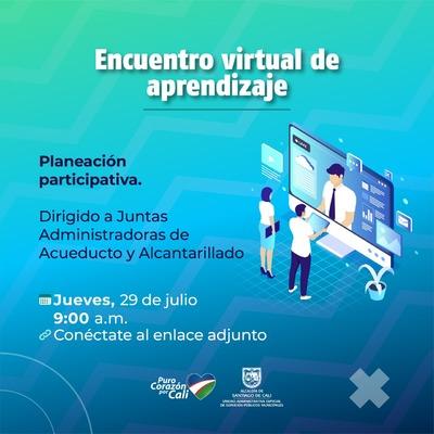 Encuentro virtual de aprendizaje