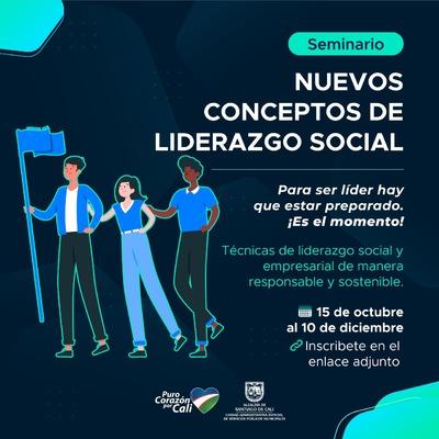 "SEMINARIO ""Nuevos conceptos de Liderazgo Social"""