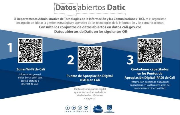Datos abiertos para una Cali conectada e innovadora