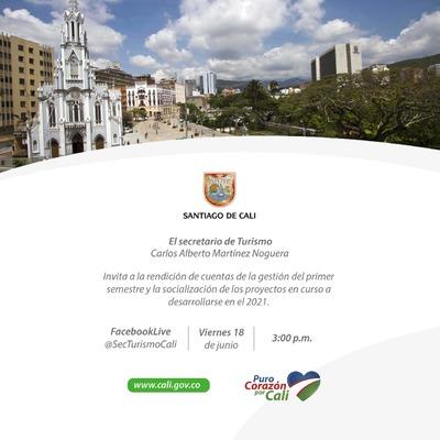 Primera Rendición de cuentas de la Secretaría de Turismo 2021