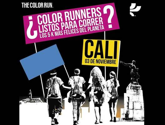 Lanzan este jueves en Cali la carrera 'The Color Run'