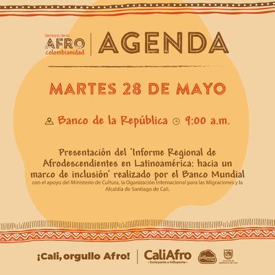 Presentación del Informe Regional de Afrodescendientes en Latinoamerica