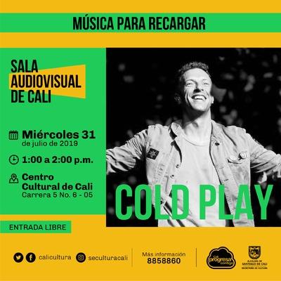 Música para recargar Cold Play - Centro Cultural de Cali - Salón 218