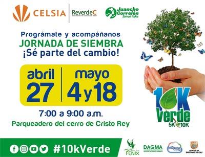 Jornada de siembra con la 10K Verde