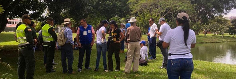 El Dagma y la comunidad recorrieron áreas de la comuna 22 susceptibles de ser declaradas áreas protegidas