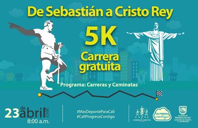 CARRERA 5k DE SEBASTIÁN A CRISTO REY