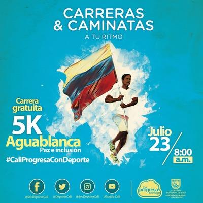 Carrera 5k Aguablanca - Paz e inclusión