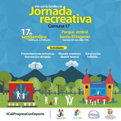 Jornada Recreativa Comuna 17