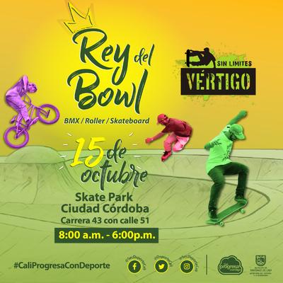Rey del Bowl BMX/Roller/Skateboard