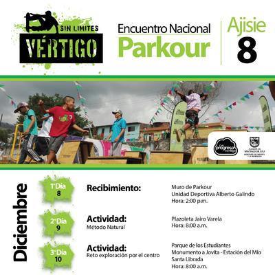 Encuentro Nacional de Parkour Ajisie 8