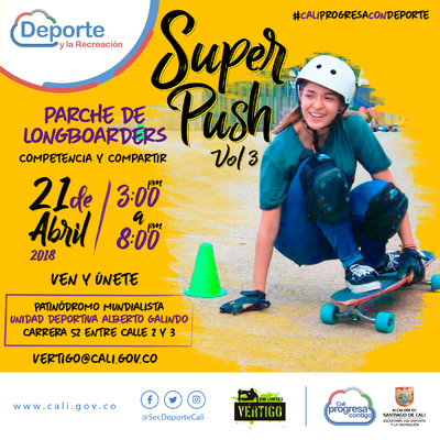Super Push Vol 3 Parche de Loungboarders