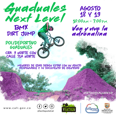 Guaduales Next Level - BMX Dirt Jump