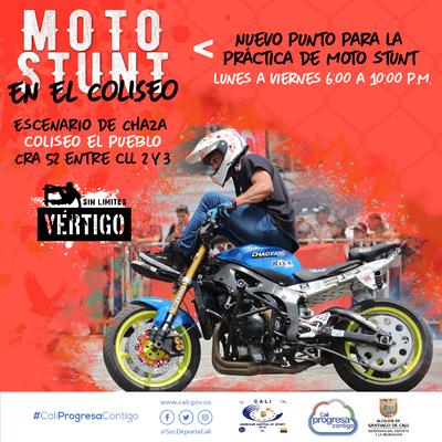 Moto Stunt en el coliseo