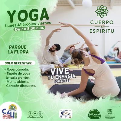 Yoga - Vive tu energía  Gratis