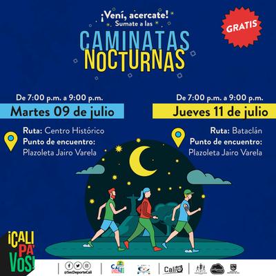 Caminata nocturna ruta Bataclán  A tu ritmo