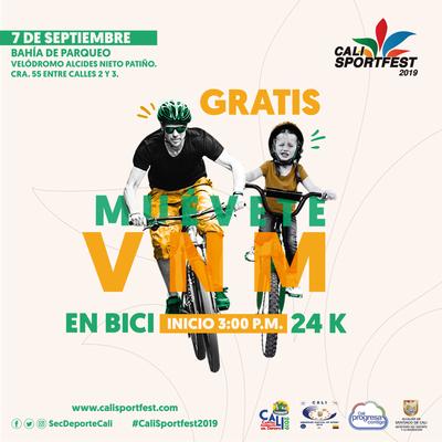 VNM paseo en bici 24K