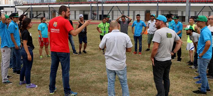 En SportFest aprenderemos FutbolNet con la Fundación Barcelona y el Banco Interamericano de Desarrollo