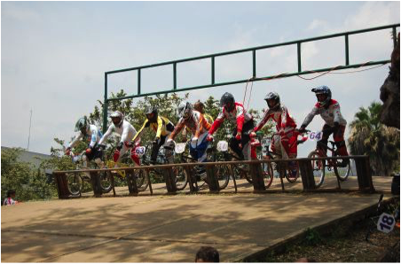 Pista de bicicross William Alexánder Jiménez