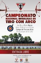 PRIMERA PARADA NACIONAL INTERLIGAS DE TIRO CON ARCO SEDE CIUDAD DE CALI