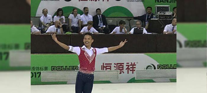 Estudiante de la institución Antonio José Camacho campeón mundial en patinaje Artístico