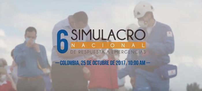 Participa en el VI Simulacro Nacional de Respuesta a Emergencias