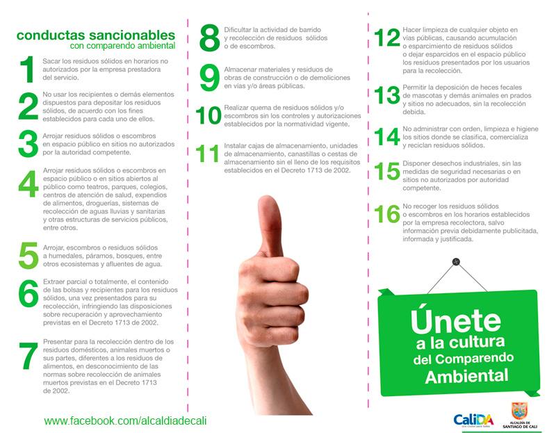 Cu les son las conductas que sanciona el comparendo for Oficina xestion de multas concello de santiago