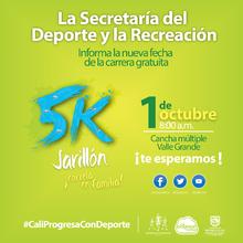 Carrera 5k Jarillón - ¡Corre en familia!