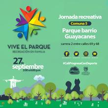 Jornada Recreativa Comuna 5