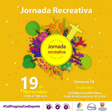 Jornada Recreativa Comuna 18
