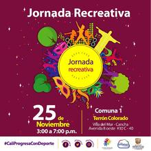 Jornada Recreativa Comuna 1