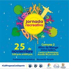 Jornada Recreativa Comuna 2