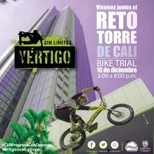 Reto Torre de Cali Bike Trial