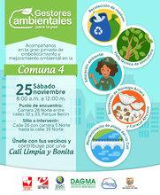 Gestores Ambientales para la Paz en la comuna 4