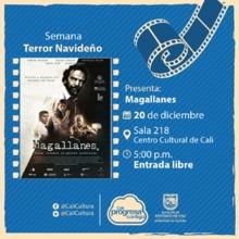 Semana Terror Navideño Película: Magallanes de Salvador del Solar  Año: 2015 - Miercoles, diciembre 20 de 201705:00 p.m -Sala 218 – Centro Cultural de Cali