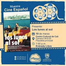 Cine bajo las Estrellas  Pelicula:Los lunes al sol de Fernando León Aranoa    Año:2002  Duración: 113 minutos  España  - Plazoleta CCC  – Centro Cultural de Cali