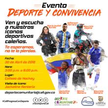 """Deporte y Convivencia Ícono Deportivo """"Jackeline Renteria"""""""