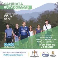 Caminata ruta Guacas