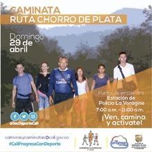 Caminata ruta Chorro de Plata