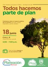 Jornada de participación ciudadana del Plan Maestro de Espacio Público