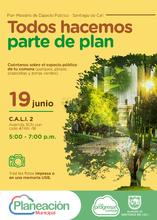 Jornada de participación ciudadana Plan Maestro de Espacio Público Comuna 2