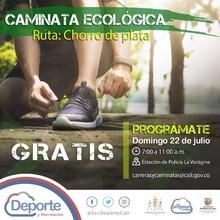 Caminata Ecológica ruta Chorro de Plata