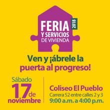 Feria y servicios de vivienda