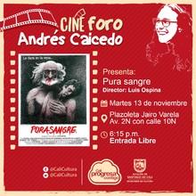 Retrospectiva de Luis Ospina – I Parte - Pura Sangre - Cine foro Andrés Caicedo/Plazoleta Jairo Varela