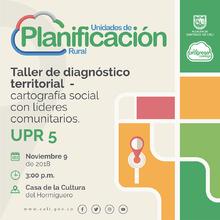 Reconocimiento del territorio UPR 5 - El Hormiguero