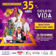 Celebración de los 35 años de la Ciclovida