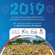 2019 un nuevo año en el que disfrutaresmos más deporte, actividad física y recreación