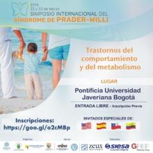 Simposio Internacional del Síndrome de PRADER-WILLI