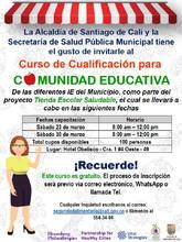 Curso de cualificación para la Comunidad Educativa del Municipio de Cali