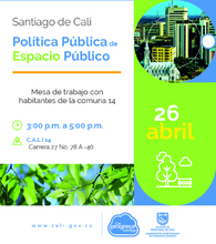 Política Pública de Espacio Público comuna 14
