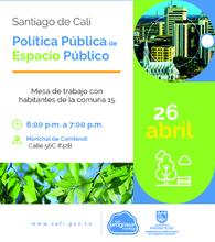 Política Pública De Espacio Público comuna 15
